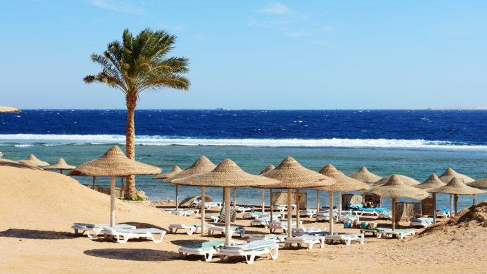 Sharm El Sheikh plajă