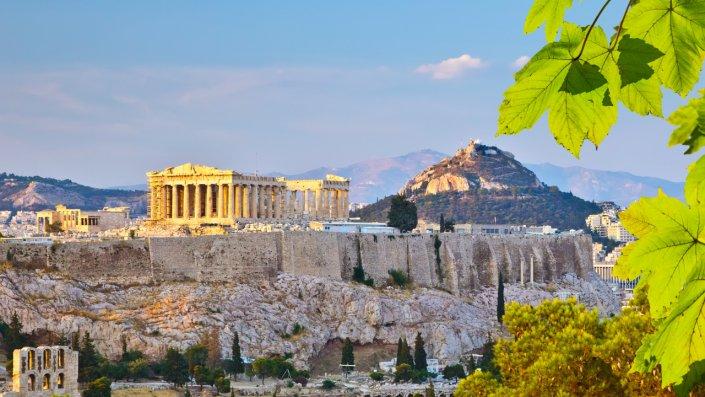 acropolis old city Atena revelion