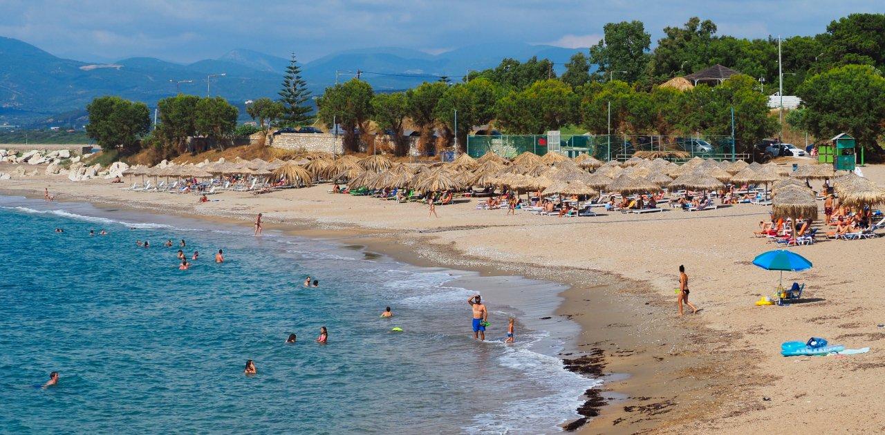 kalamata peloponnez beach