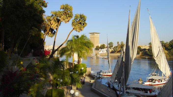 Aswan Botanical Garden Aswan Egipt