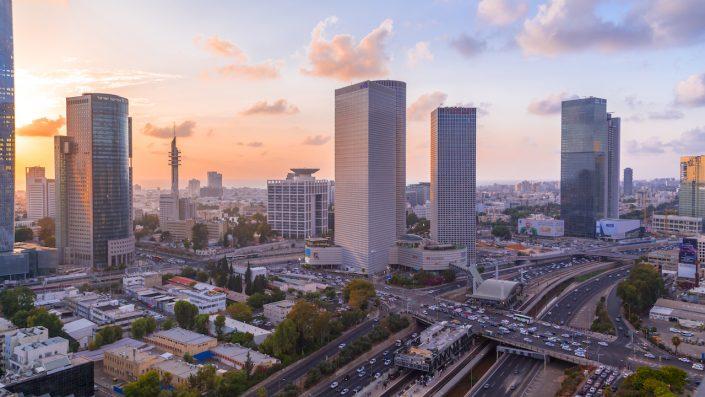 Centrul Azrieli Tel Aviv, District oraș, Israel
