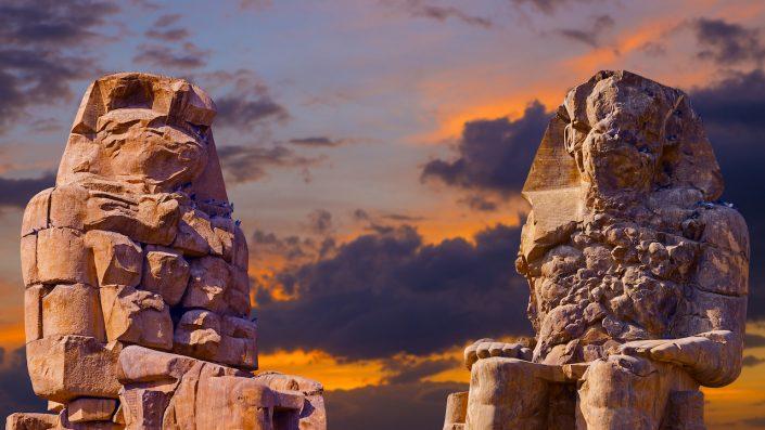 Colossi of Memnon Luxor Thebes Egipt