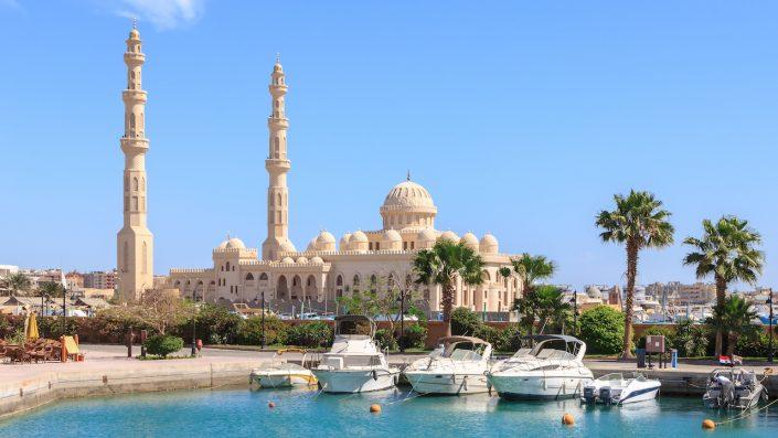 Mosque El Mina Masjid Hurghada Egipt