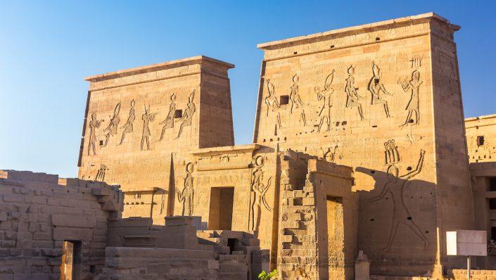 Philae temple Aswan Nil Egipt