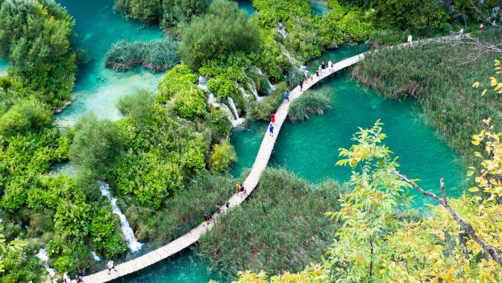Plitvice Parks, Croatia