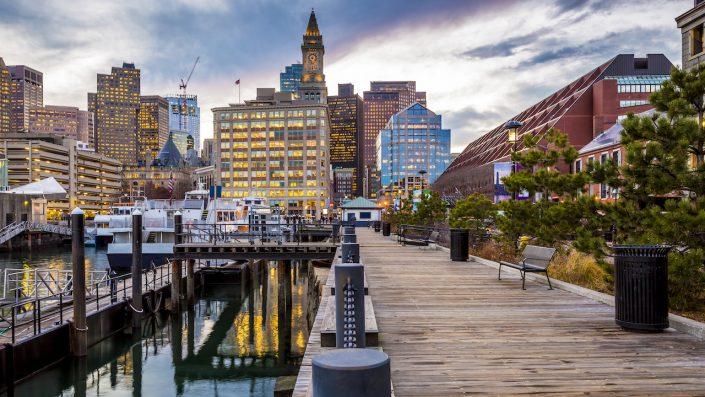 Port, Boston, USA