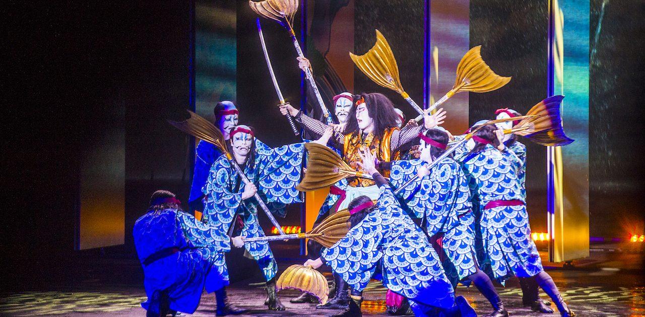 Spectacol Kabuki, Kyoto
