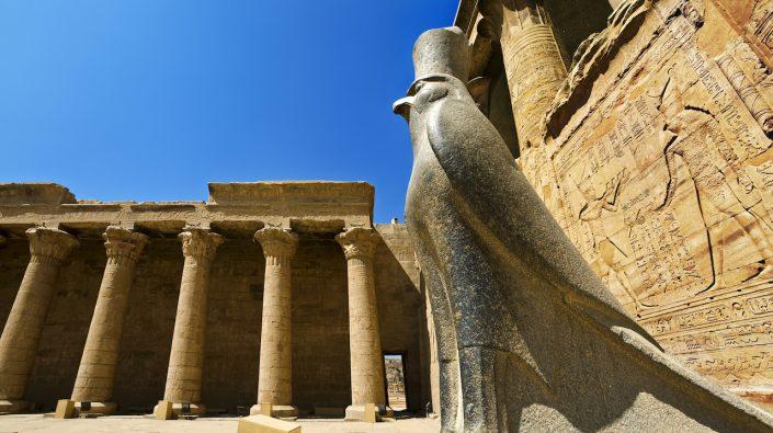Temple of Edfu Edfu Egipt