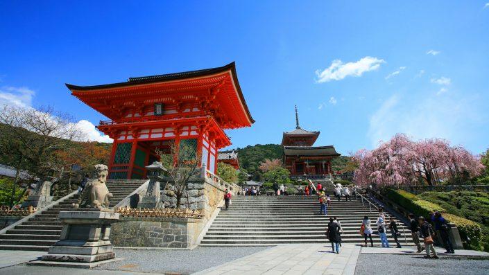 Templul Kyomizu Dera, circuit Japonia 2020