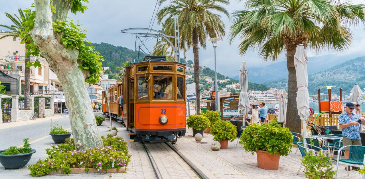 Trenul din Soller Mallorca