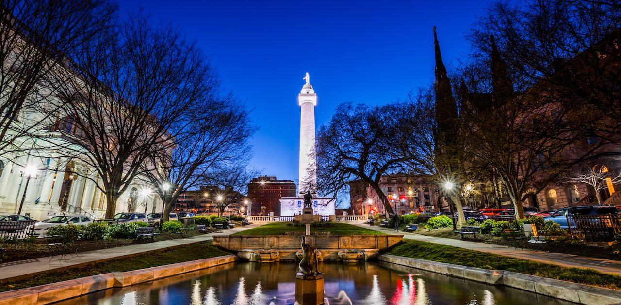 Washington by night Washington USA