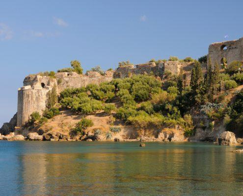 dreamstime xxl 19511052 Castelul Koroni Messinia Peloponez