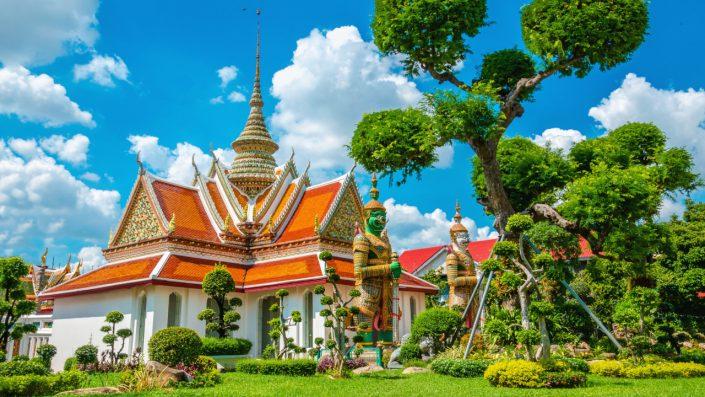 Great Palace Buddhist temple Bangkok
