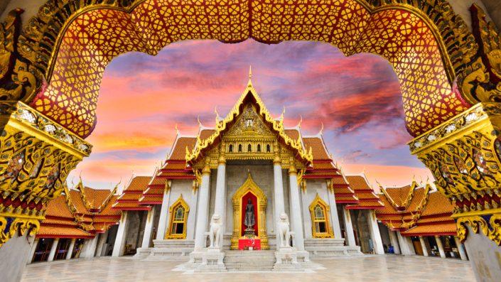 Marble Temple of Bangkok