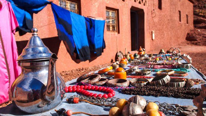 ceaiuri și eșarfe Maroc Revelion
