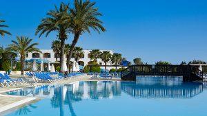 Amilia Mare pool palmtrees