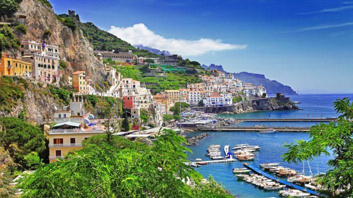 Coasta Amalfitana peisaj