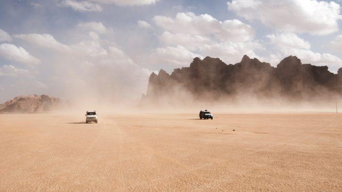 Safari in destertul Wadi Rum