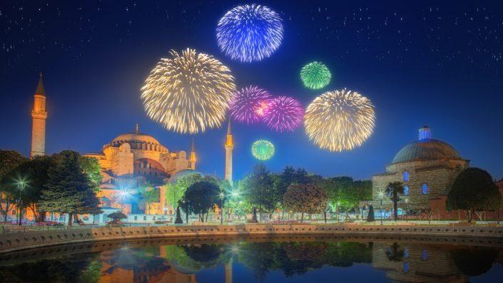 Artificii Istanbul