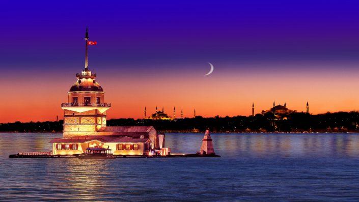 Istanbul apus de soare