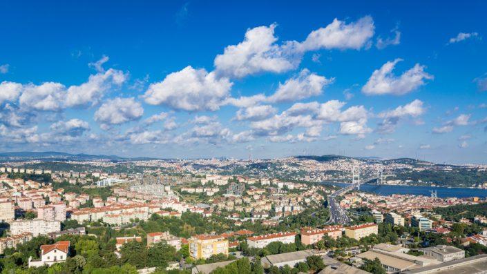 Istanbul perspectivă aeriană
