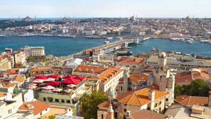 Istanbul văzut de sus